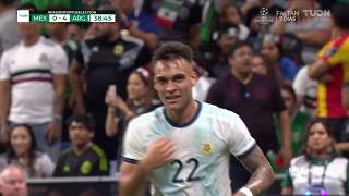 Lautaro Martinez vs Mexico ●Scored Hat Trick●Individual Highlights●11/09/2019
