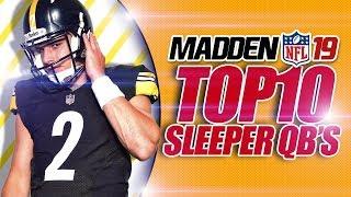 Madden 19 Tips: Top 10 Sleeper QBs