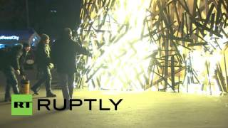 Скачать Russia Thousands Bid Farewell To Winter At Moscow Maslenitsa Party
