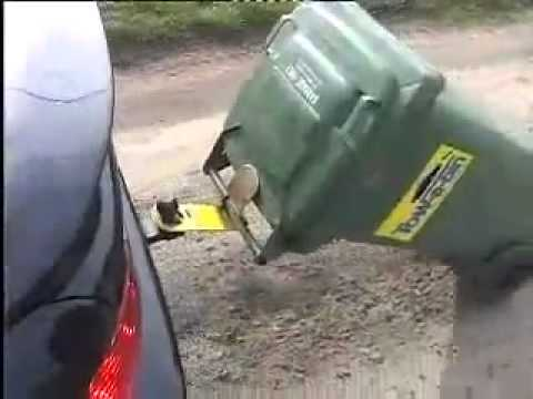 Homemade Car Trash Can
