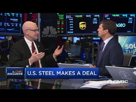 US Steel CEO David Burritt On Ownership Stake In Big River Steel