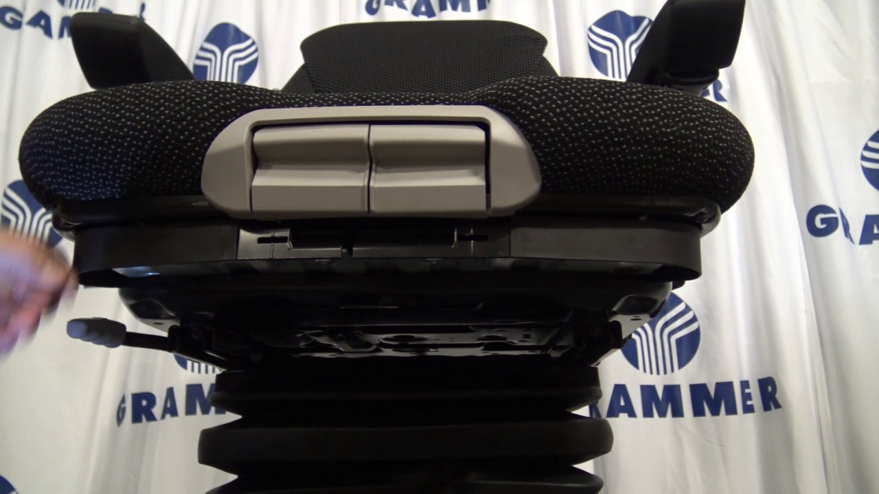 Grammer Seats - MSG85/MSG95/MSG97 - How to remove seat depth/tilt