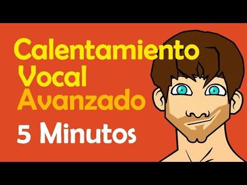 Calentamiento vocal AVANZADO - Voz preparada en 5 minutos
