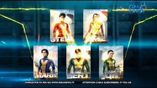 "LET'S VOLT IN! The main cast of ""Voltes V: Legacy"" is now complete! 