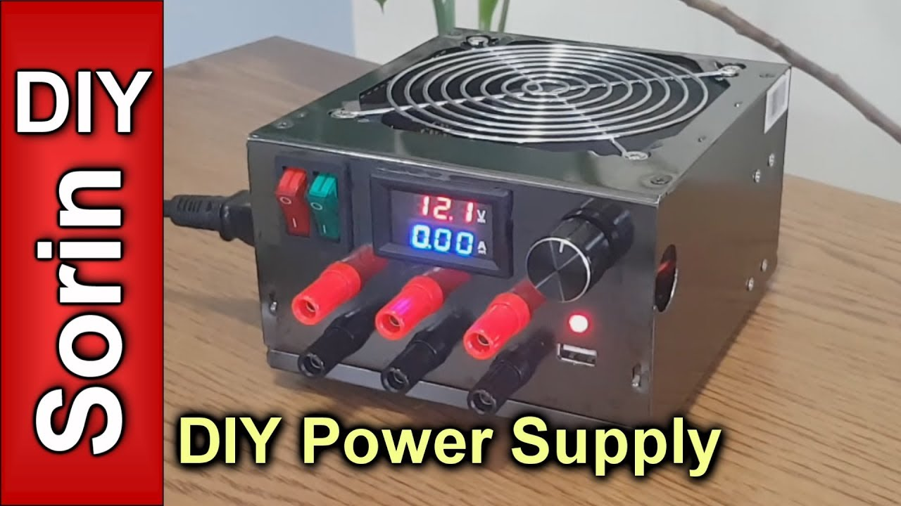 Diy Lab Bench Power Supply Youtube