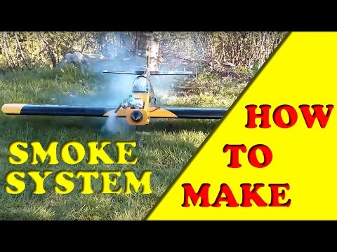 How to EASILY make a SMOKE SYSTEM for RC plane