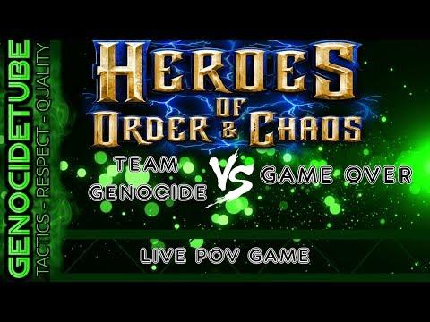 HOC TEAM GENOCIDE VS GAME OVER GUILD
