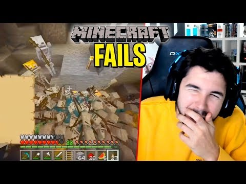 TOP 100 FAILS de MINECRAFT