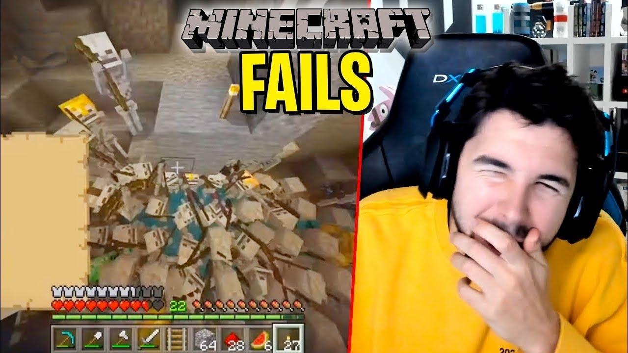 TOP 100 FAILS de MINECRAFT