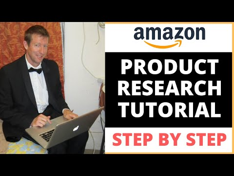 Amazon FBA - Product Research 5 Steps Tutorial thumbnail