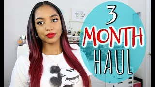 MAKEUP HAUL 💕 3 MONTH BINGE 💕 Fenty | Cover FX | ABH | *New Stuff*