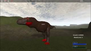 roblox Era of Terror v 0.8.1 (T Rex red Vs bue T Rex #15