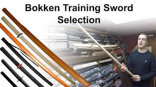 Bokken Training Sword Selection For Sale at Enso Martial Arts Shop