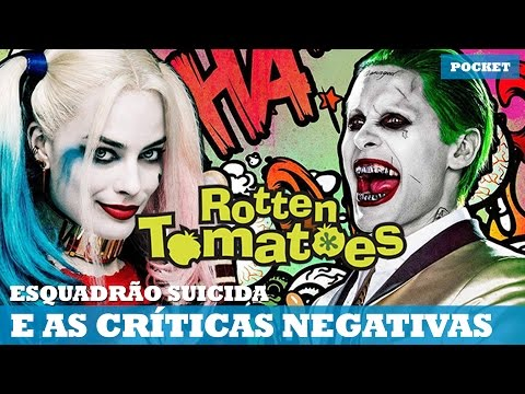 ROTTEN TOMATOES NEGATIVOU ESQUADRÃO SUICIDA E OLHA NO QUE DEU!   Nerd News Pocket #29