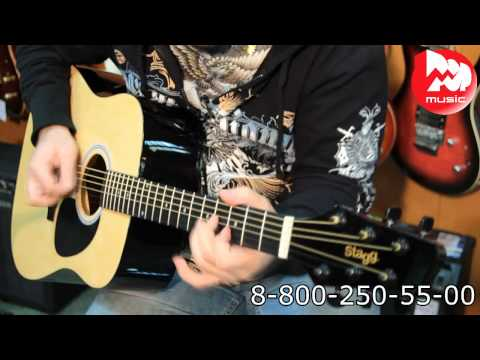 Гитара акустическая STAGG SW203N