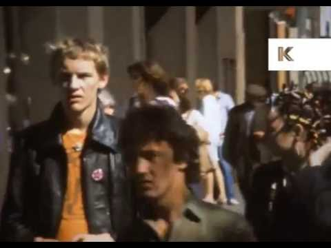 1970s London, Soho, Punk, Super 8 Home Movies