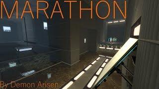 """Portal 2 Blind Playthroughs: Episode 148: """"Marathon (v1.1)"""" by Demon Arisen"""