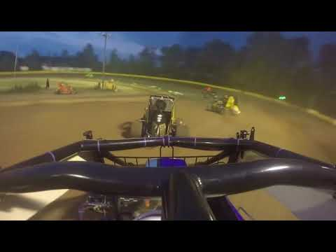Hamlin Speedway - Rookie 600's Feature 7-14-18