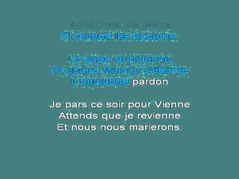 La Maman D'amandine [karaoke]