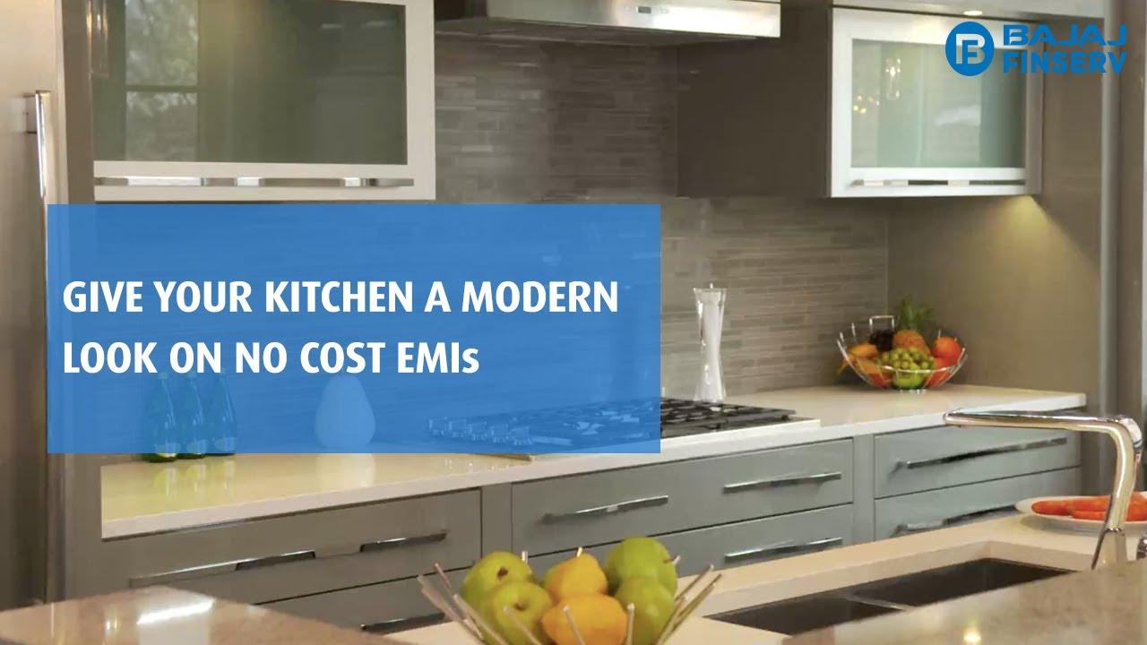Modular Kitchen On Emi Bajaj Finserv Emi Network Youtube