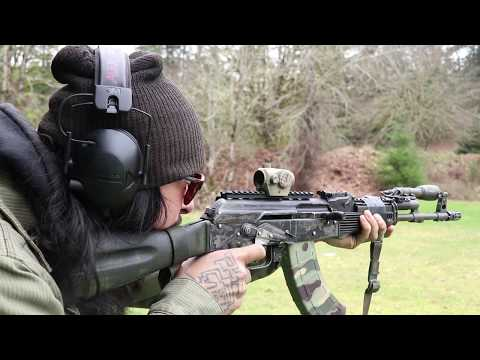 Midwest Industries AK Mount Review - YouTube