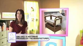 Safe & Sound For Baby: Bassinets, Cradles And Bedside Sleeper Safety