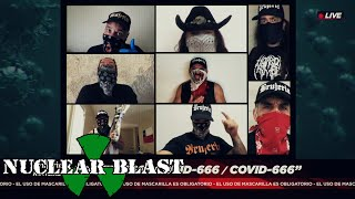 BRUJERIA – COVID-666 (OFFICIAL MUSIC VIDEO)