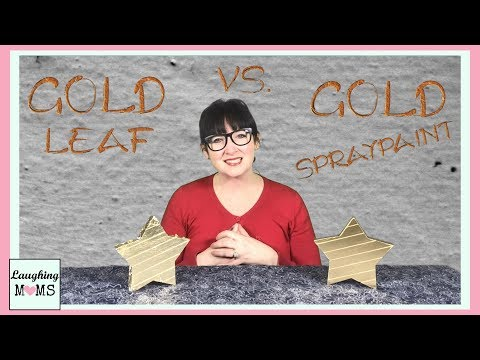 DIY | Gold Leaf VS Gold Spraypaint