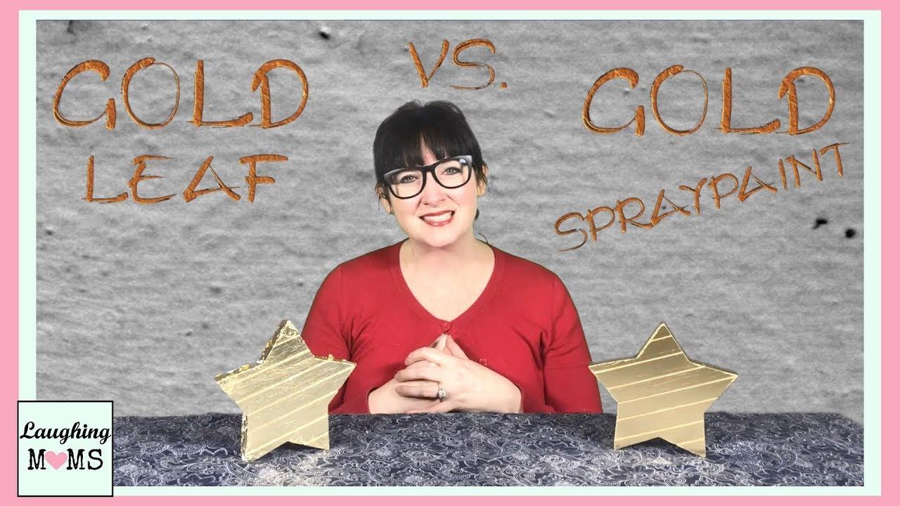 Diy Gold Leaf Vs Spraypaint