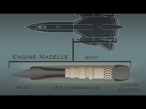 the mighty j58 the sr 71 s secret powerhouse youtube rh youtube com SR-71 Dimensions Mach 4 Jet Engine Diagram