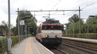 RFO 1837 pulls a Sziget festival train to Bentheim, passing Twello