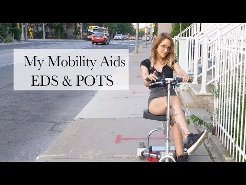 MY MOBILITY AIDS | EHLERS DANLOS SYNDROME & POTS #AmbulatoryWheelchairUsersExist