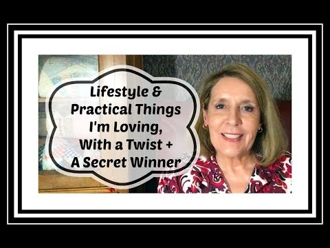 Lifestyle & Practical Things I&39;m Loving With a Twist + Secret Winner