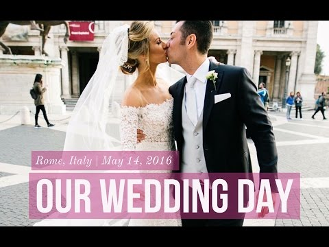 Full Wedding Video in Rome, Italy 💍👰 | ANNA VICTORIA