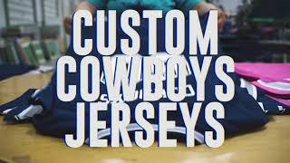 Custom Jerseys - Cowboys Pro Shop