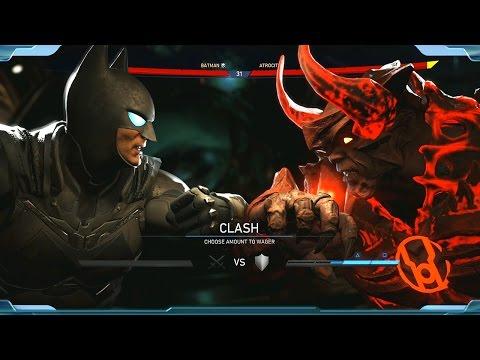INJUSTICE 2 - Batman vs Atrocitus | 20 Minutes of New Gameplay | Batman, Atrocious