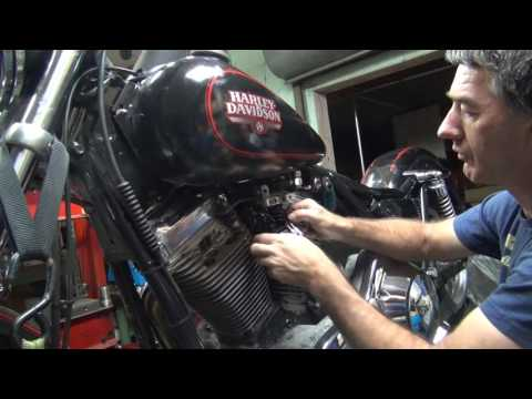 1989 fxr #101 ignition swap-out repair harley dyna 2000i by tatro machine