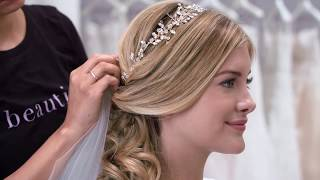 3 Wedding Hair Ideas With Matching Accessories