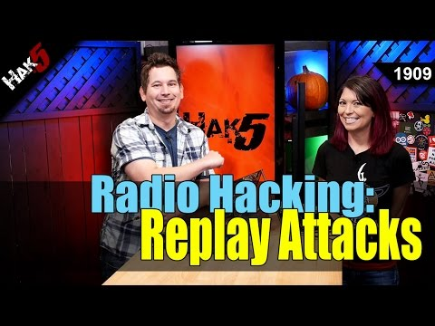 How to Hack Wireless Remotes with Radio Replay Attacks - Hak5 1909
