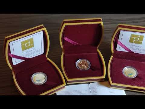 золотые монеты Армении серия знаки зодиака