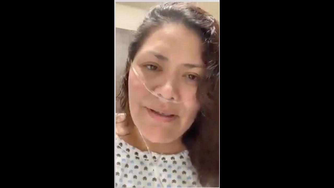 Testimonio de paciente hospitalizada por COVID-19