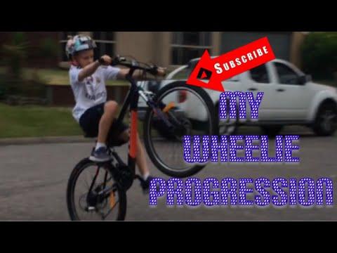 Wheelie progression
