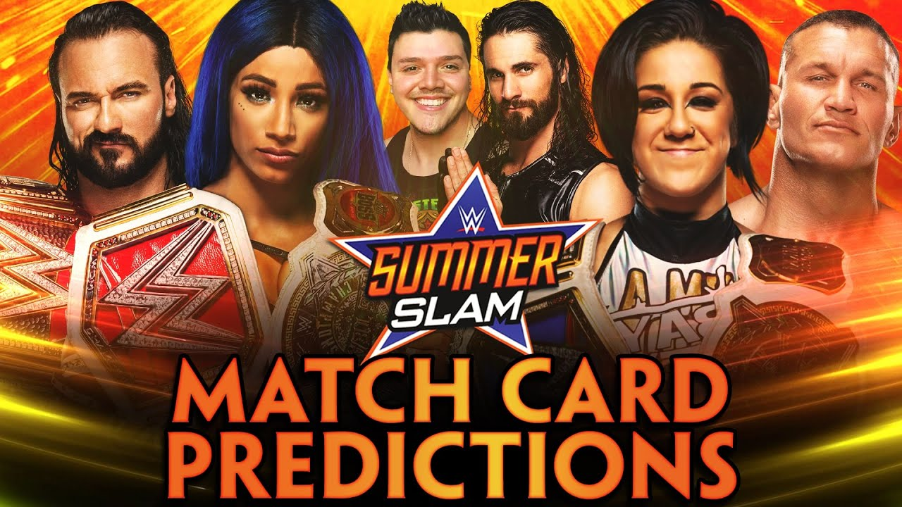 WWE SUMMERSLAM 2020 | MATCH CARD PREDICTIONS - YouTube
