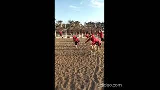 Зарядка футболистов Металлурга в Турции