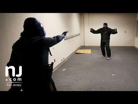 Police train in de-escalation and non-lethal force
