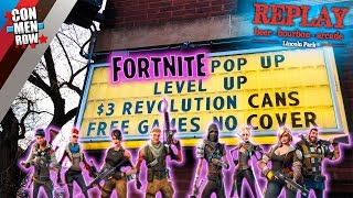 FORTNITE POP-UP BAR IN LINCOLN PARK @ REPLAY!!