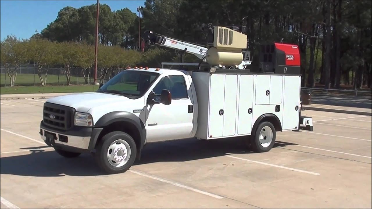 2007 Ford Mechanics Truck 28 Auto Crane For Sale From
