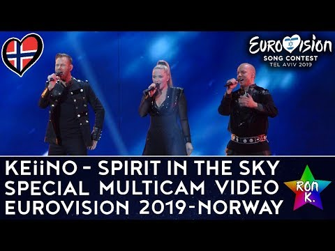 "KEiiNO - ""Spirit In The Sky"" - Special Multicam Video - Eurovision 2019 (Norway)"