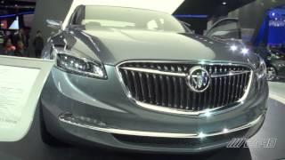 Buick Avenir Concept at NAIAS 2015!