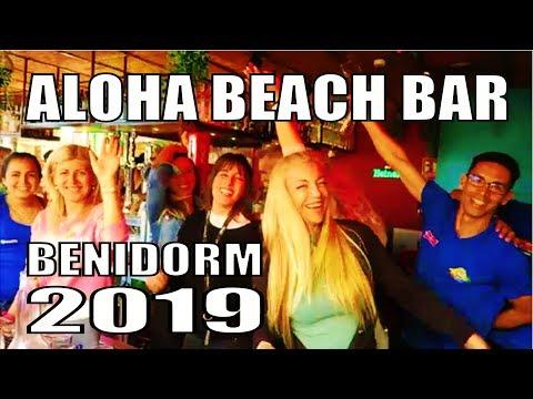 TIKI BEACH BAR BENIDORM ~ IS NOW ALOHA BEACH BAR. 2019